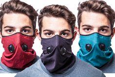 Inversion Gaiter 2 Air Filter Masks - The Awesomer