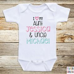 My aunt loves me aunt baby clothes i love my by crazybabyfashion personalized baby clothes i love my aunt and by newbornbabyclothes negle Images
