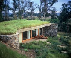 Gorgeous Green-Roofed Forum Homini Hotel Rehabilitates Cradle of Humankind in Africa