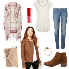 OneOutfitPerDay 2016-04-05 - #ootd #outfit #fashion #oneoutfitperday #fashionblogger #fashionbloggerde #frauenoutfit #herbstoutfit - Frauen Outfit Frühlings Outfit Outfit des Tages Sommer Outfit ASOS Biker-Jacke Bikerjacke Bikerstiefel Bikerstiefelette Cardigan Cowboystiefel Giorgio Armani Beauty Jeans Kimono Lederjacke mint&berry ONLY REVIEW Shirt Slim Fit Jeans Tasche Umhängetasche Wrangler Zign