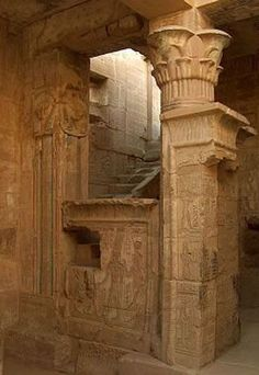 ♔ Ptolemaic temple ~ Luxor ~ Egypt