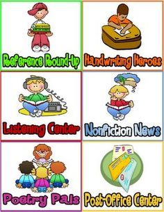 Literacy Station Ideas
