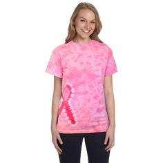 a553cce54ab Tie Dye CD1150 Pink Ribbon T-Shirt. Tie DyedTie Dye DesignsCustom TiesTie  ...