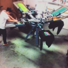 M&R Kruzer screenprint press, Screen Printing, Vehicles, Screen Printing Press, Silk Screen Printing, Car, Screenprinting, Vehicle, Tools