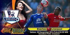 Prediksi Everton vs Liverpool, Prediksi Skor Everton vs Liverpool, Jadwal Liga Primier Inggris antara Everton vs Liverpool akan berlangsung pada hari Selasa, 20 Desember 2016 Pukul 03.00 WIB, langsung dari Goodison Park, Liverpool.