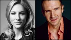 Cate Blanchett, Ralph Fiennes to Get Gala Tributes at New York Film Festival