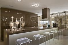 Bancada em silestone #kitchen #casacor #cozinha