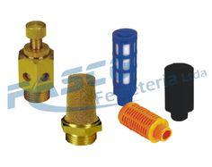 Son ampliamente utilizados en las válvulas, cilindros, o cualquier sistema neumático necesita un silenciador para limpiar el aire de escape y reducir el ruido y algunos pueden ajustar la velocidad de flujo.