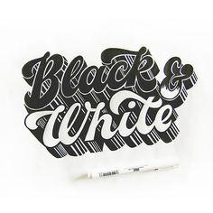 Black & White by Olga Vasik
