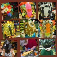 *Fun Art 4 Kids: 4th grade animal masks