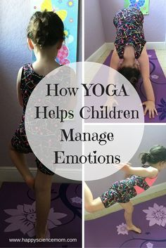 Are you looking for a simple way for your children to unwind and get in touch with their emotions? The yoga mat can serve as a retreat from the pressures and stress that they face every day. Yoga offers so many incredible benefits to our children includin Parenting Advice, Gentle Parenting, Kids And Parenting, Toddler Yoga, Baby Yoga, Ju Jitsu, Yoga For Kids, Children Exercise, Coping Skills