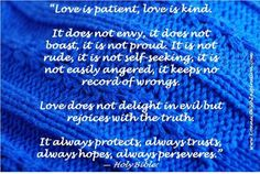 Quote about Love Is Patient Love Is Kind Bible Quotes About Love, Inspirational Quotes About Love, Love Quotes, Letter Of Encouragement, Kindness Quotes, Love Is Patient, Do What Is Right, Heartbroken Quotes, Attitude Quotes