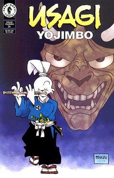 A farming village is plagued by a supernatural killer who warns his victims with haunting music from his flute before they are overcome by a . Usagi Yojimbo, New Children's Books, Bruce Timm, Comic Books Art, Book Art, Dark Horse, Comic Covers, Tmnt, Childrens Books