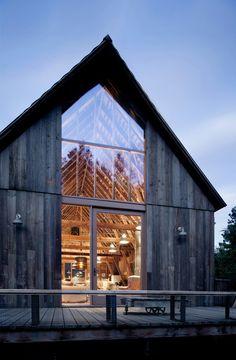 Canyon barn, WA. MW|Works Architecture+Design, Seattle. Tim Bies photo.