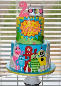 Amazing 72 Best Yo Gabba Gabba Cakes Images Yo Gabba Gabba Gabba Gabba Funny Birthday Cards Online Elaedamsfinfo