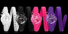 """Les nouvelles collections Ice Watch sont arrivées ! - """"Les montres Ice Shadow, se déclinent en huit nouvelles coloris : bleu nuit, bleu oxford, vert forêt..."""""""