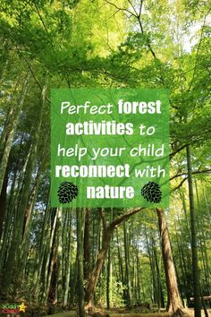 Forest school is a brilliant way for kids to connect with nature. We have four amazing activities; mud faces, bats and moths, magic wands and a nature scavenger hunt too. Great forest school fun.