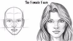 draw female face   Tumblr