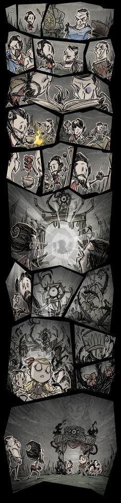 Don't Starve Together - Official promotional comic
