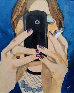 """Diane"" - Original Fine Art for Sale - © Kathleen Carrier"