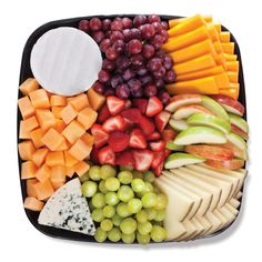 Publix Deli - Fruit & Cheese! :-) http://www.publix.com/food/catalog/Deli/DeliPlatters/FruitVegetablesCheese/Home.do