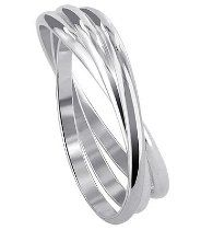 Sterling Silver Triple Band Thumbring