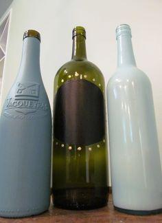 More wine bottles!