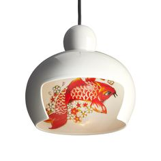 Moooi Juuyo Koi Carp Tattoo Pendant Light. Available to buy along with other Moooi products at www.ferriousonline.co.uk. All with Free Mainland UK Delivery