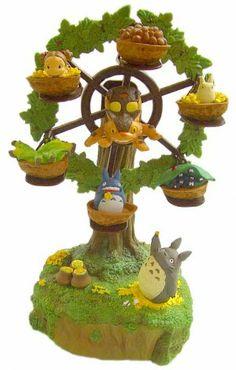 Music Box - Ferris Wheel - Totoro & Chu & Sho & Mei & Nekobus - Ghibli - 2011