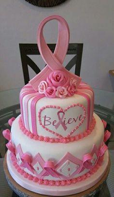Not a flirty cake, but a testament to a woman's strength.