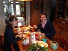 """Quel souvenir ce vrai petit-déjeuner du Nord très gourmand à la """"Maison du Sart"""""""