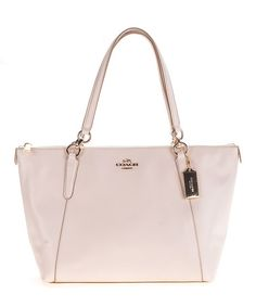 Loving this Chalk Ava Leather Tote on #zulily! #zulilyfinds