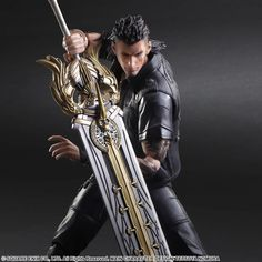 FINAL FANTASY XV: PLAY ARTS KAI - Gladiolus