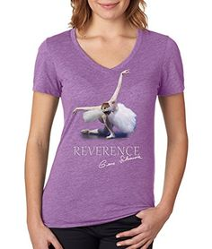 "Gene Schiavone - Womens Ballet Collection ""Reverance"" Premium Dual Blend V Neck T-shirt (Large) Trunk Candy http://www.amazon.com/dp/B016ZD80SO/ref=cm_sw_r_pi_dp_RUqqwb03WE875"