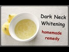 Mask for neck whitening - get rid of discolouration - best homemade mask for dark neck, hands, feet, elbow, knees