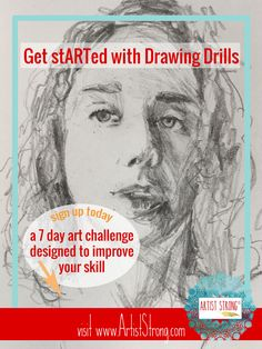 art challenge, drawing lessons, art lessons, drawing skills, improve drawing talent