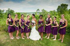Henkaa convertible bridesmaid dresses www.henkaa.com