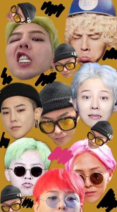 G Dragon, Gd, Carnival, Sweet, Face, Painting, Candy, Carnavals, Painting Art