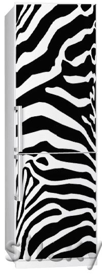 Fridgy Sticker ZEBRA by Sticky! A little bit of crazy :)