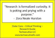 Critical Thinking Quotes, Outer Core, Coaching, Training