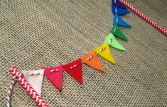 Hey, I found this really awesome Etsy listing at http://www.etsy.com/listing/159204781/rainbow-felt-cake-bunting-on-chevron