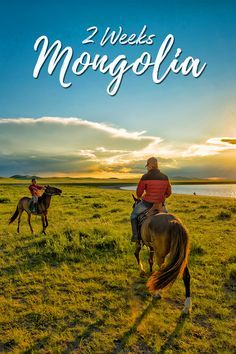 2 weeks Mongolia. A sample itinerary for independent travellers with top 10 things to do in Mongolia #asia #centralasia #mongolia.