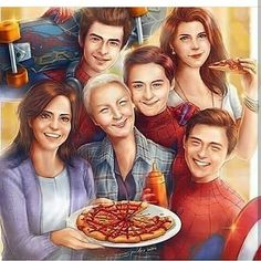 SpiderWee - Marvel The Parker Family Amazing Spiderman, All Spiderman, Marvel Memes, Marvel Dc Comics, Marvel Avengers, Captain Marvel, Ms Marvel, Spideypool, Superfamily