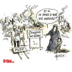 Syrie : le mauvais remake - Dessin du jour - Urtikan.net