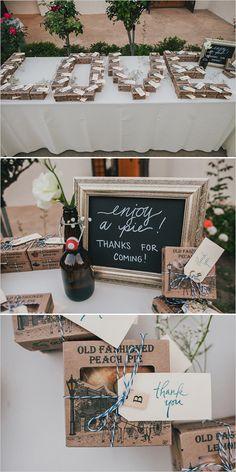personal pie wedding favors @weddingchicks