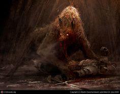 werewolf 01 by Martin Deschambault | 2D | CGSociety