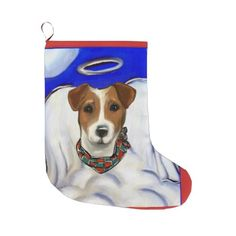 Jack Russell Terrier Large Christmas Stocking - christmas stockings merry xmas cyo family gifts presents Large Christmas Stockings, Jack Russell Terrier, Family Gifts, Merry Xmas, Scooby Doo, Disney Characters, Fictional Characters, Presents, Seasons