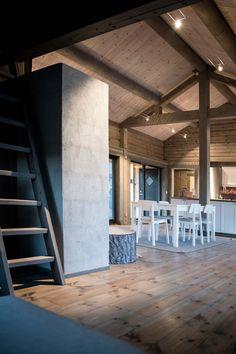 LYSTHUS | En moderne og arkitekttegnet hytte med hems - Rindalshytter Bed And Breakfast, Breakfast Ideas, Tiny Houses, Small Spaces, Yard, Landscape, Decor, Woodwind Instrument, Home