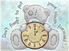 Me To You-Clocks Forward