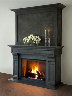 Custom made artisan cast stone fireplace mantels and overmantels. See our wide range of collection and schedule a consultation with our experts for free!